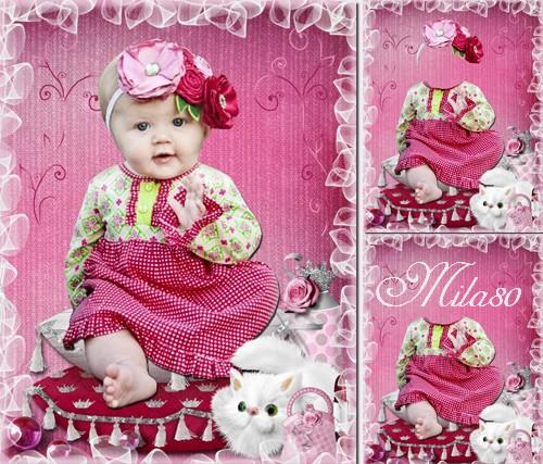Детский шаблон - Маленькая мисс