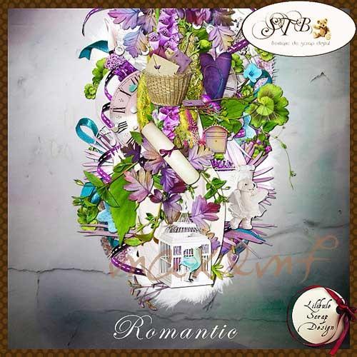 Романтический скрап-набор - Романтик