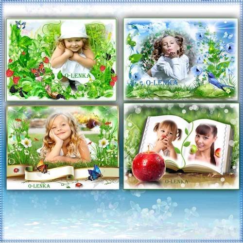 Рамки для фотошопа - Шелест травы