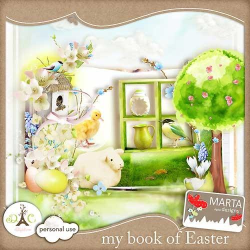 Пасхальный скрап-набор - Моя пасхальная книга