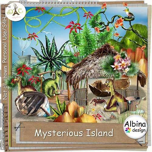 Детский скрап-набор - Загадочный остров