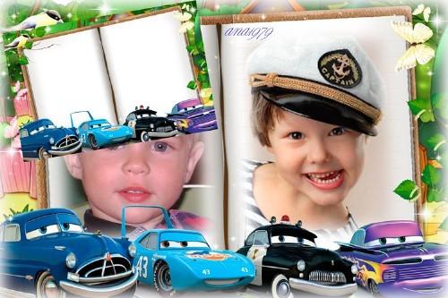 Рамка для фотошопа - Озорной малыш