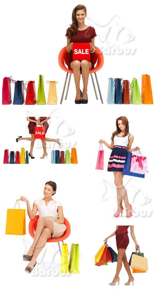 Purchases and beautiful legs / Покупки и красивые женские ножки