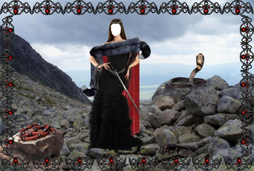 Шаблон Королева черных скал