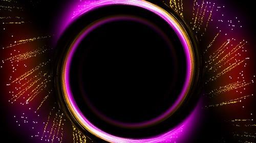 Красочный футаж с альфаканалом - иллюминация