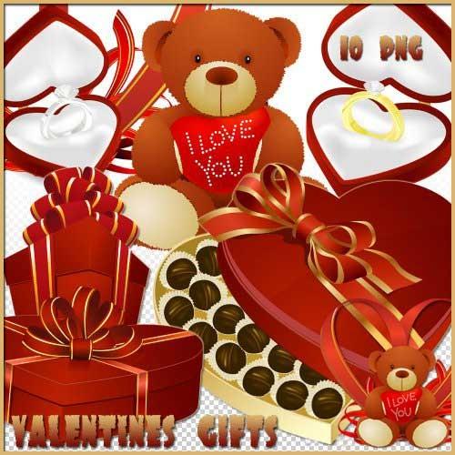 Романтический скрап-набор - Романтические подарки