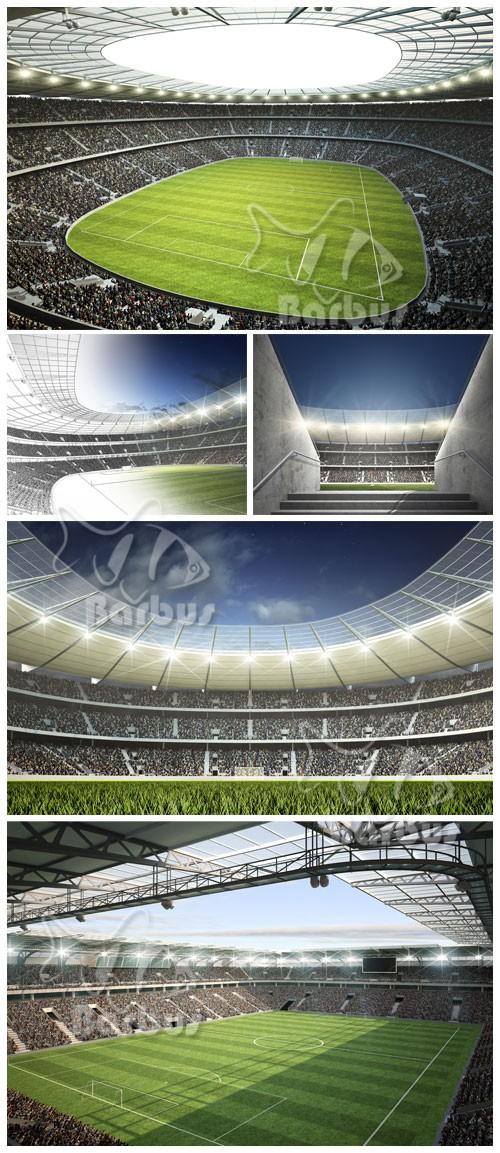Big stadium / Огромный стадион