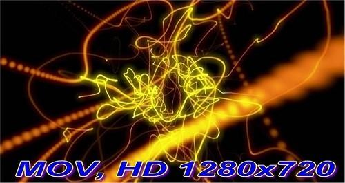Футаж Золотые струны HD (720p)