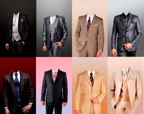Шаблоны для фотошопа  - Стильные мужчины