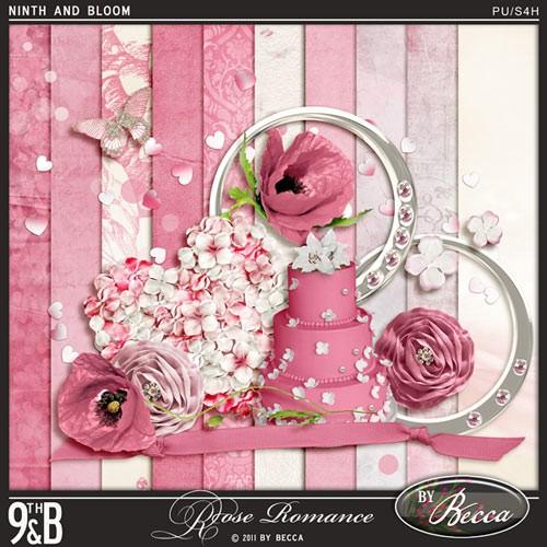 Свадебный скрап-набор - Розовая романтика