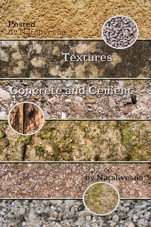 Текстуры – Бетон и цемент