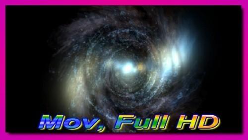 Футаж Космический тунель HD