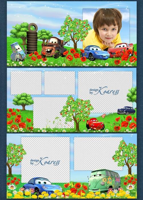 Скачать шаблоны для детского фотоальбома