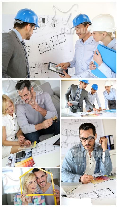 Architect creates the dream house / Архитектор создает дом мечты