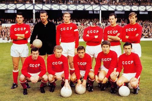 Шаблон для фотомонтажа - Команда СССР по футболу
