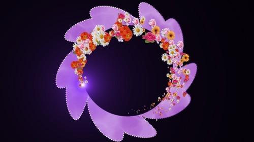 Футаж с альфаканалом - Аленький цветочек