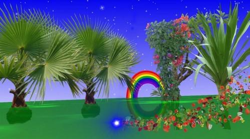 Красочный футаж высокого качества - Сказочноё лето
