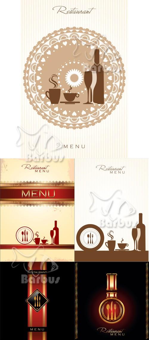 Strict covers for the restaurant menu / Строгие обложки меню для ресторана