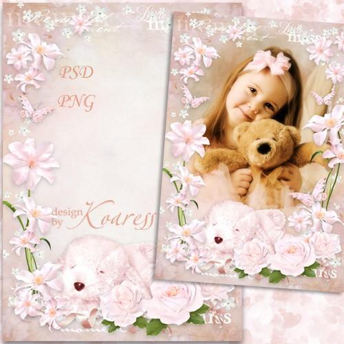 Детская рамка для фото девочек - Маленькая принцесса
