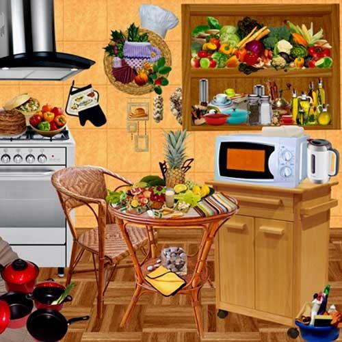 Кулинарный скрап-набор - Готовить вместе