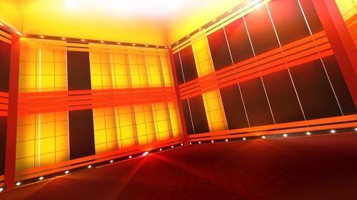HD футаж Светящаяся комната