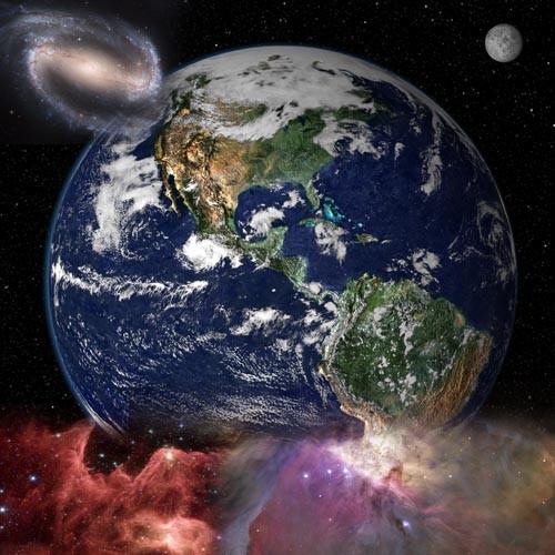 Клипарты для фотошопа - Непостижимая вселенная