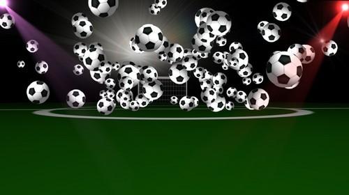 Футаж высокого качества - Футбол