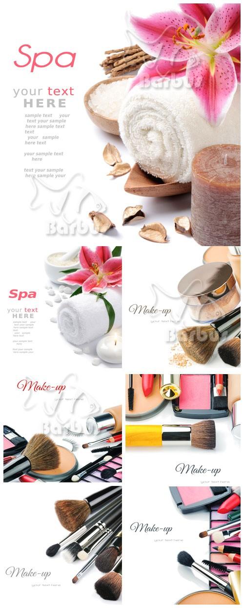 Backgrounds cosmetics and Spa / Фоны на тему косметики и спа процедур