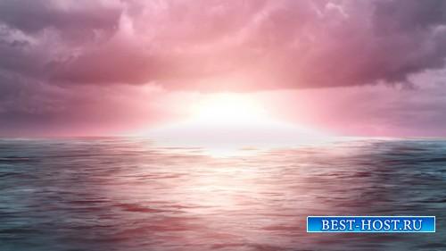 Футаж высокого качества - Утро на Море