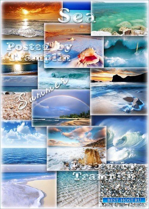 Море, волны, песок, берег, пляж – Лето, отдых