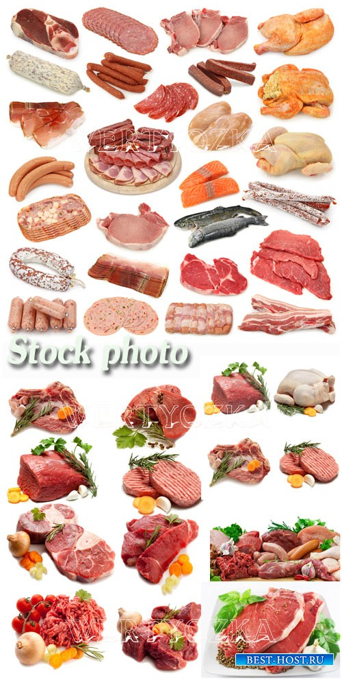 Свежее мясо, мясные продукты / Meat, meat products, sausage, chicken - Rast ...