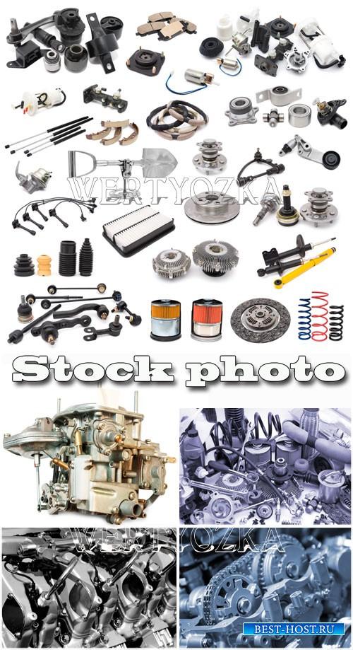 Различные запчасти для авто / Car Parts - Raster clipart
