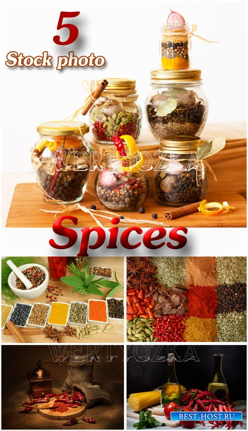 Специи / Spice, jars with spices