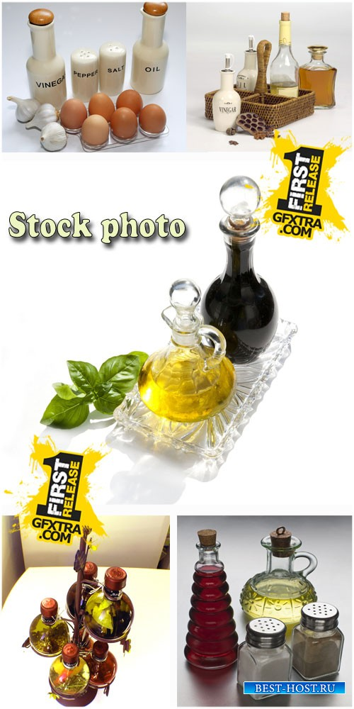 Масло, соус, приправы / Oil, sauce, seasoning, stock photos