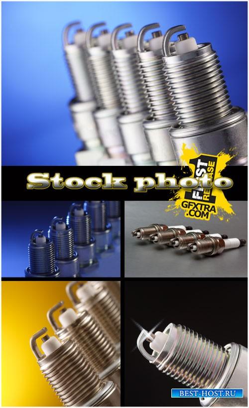 Свечи зажигания / Spark plugs stock photos