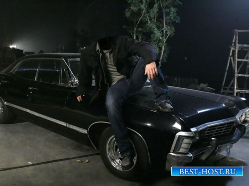 Шаблон мужской - На авто Chevrolet Impala