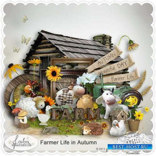 Фермерский набор для скрапбукинга - Фермерская жизнь