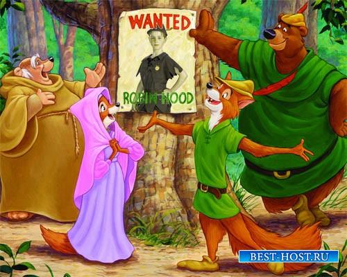 Рамка для мальчиков - Храбрый Робин Гуд