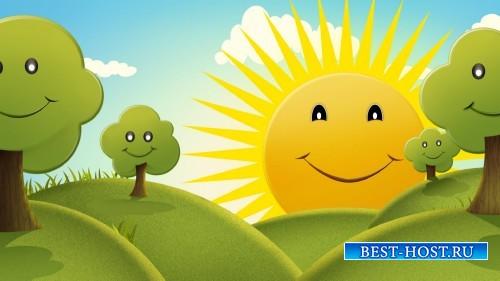 HD футаж Счастливый мультфильм
