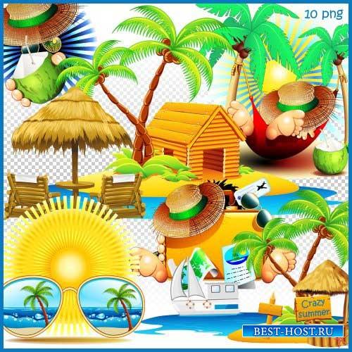 Летний скрап-комплект - Безумное лето