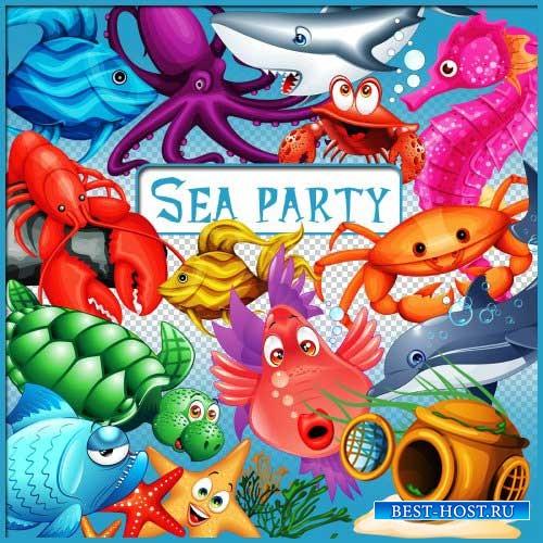Морской скрап-комплект - Морская вечеринка