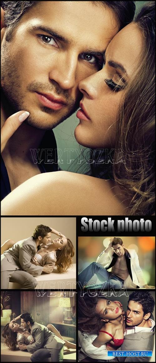 Мужчина и женщина, романтичная пара / Man and woman romantic couple - raste ...