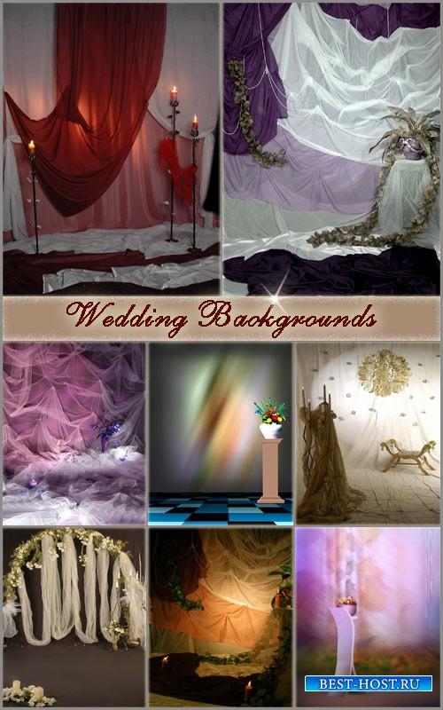 Фоны для свадебных фотографий