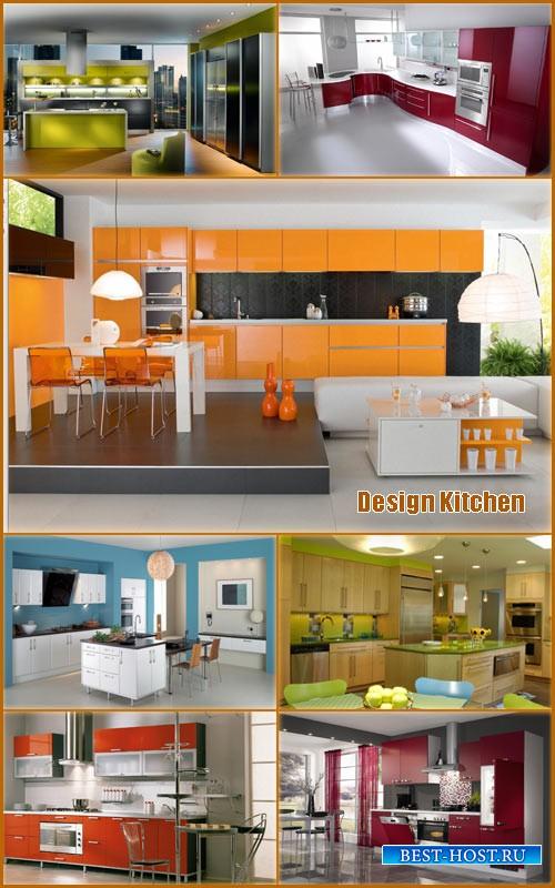 Красивый дизайн кухни 2013