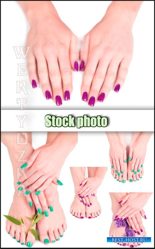 Уход за руками и ногами, маникюр, педикюр / Care of hands and feet - Raster ...