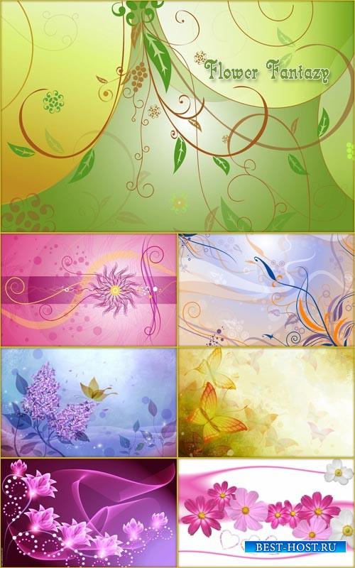 Фоны - Цветочная фантазия