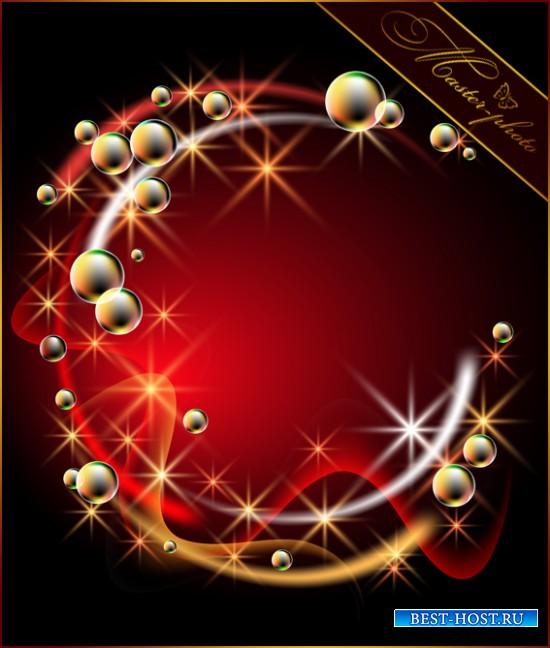 Многослойный PSD - С мыльными пузырями