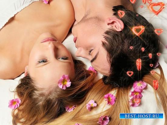 Футаж романтический - Границы пламенных сердец