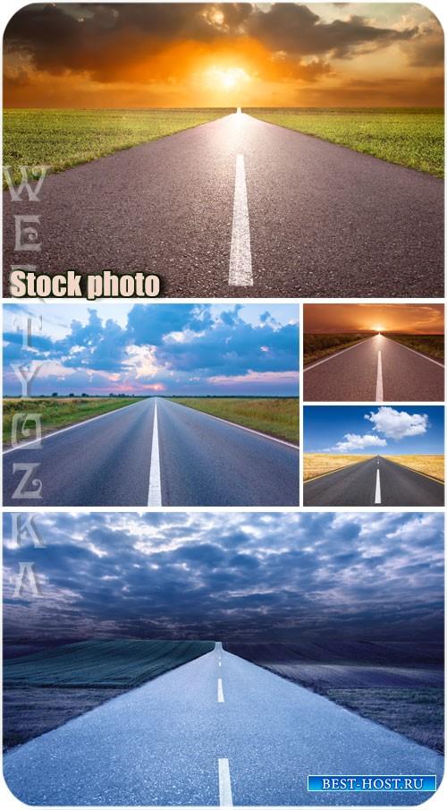 Дорога, трасса - растровый клипарт