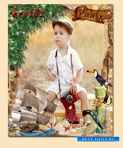 Детская рамка для фото – Вокруг света